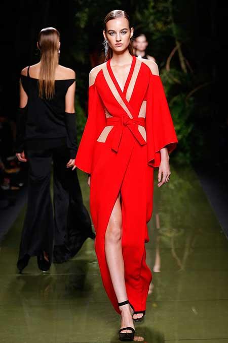 High Fashion Dresses Runway - 7