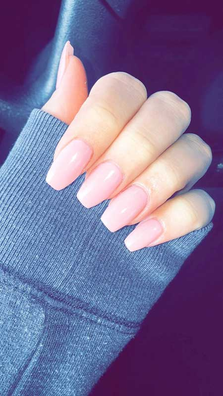 Nail Design, Acrylic, Nail Art 2017, Pink, Nail Idea, Nude, Beautiful, Nudes
