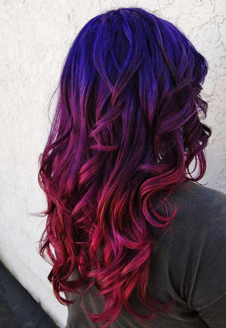 Purple, Colour, Purple, Ombre