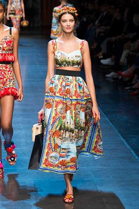 Runway Fashion Dresses Runway Skirts 2017 - 8
