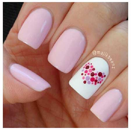 Simple Nails Summer Simple White 2017 - 8