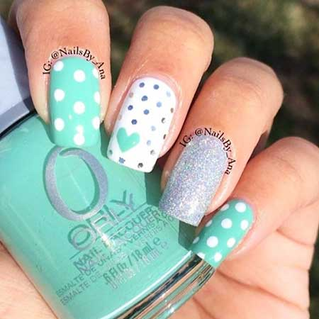 9- Cute Nail Designs - Acrylic Nails Spring Designs 2017