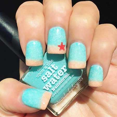 21 cute easy summer nail art  styles 2020