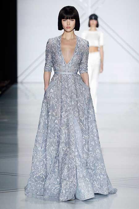 High Fashion Dresses Runway - 9