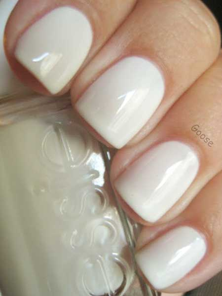 Simple Nails Summer Simple White - 9