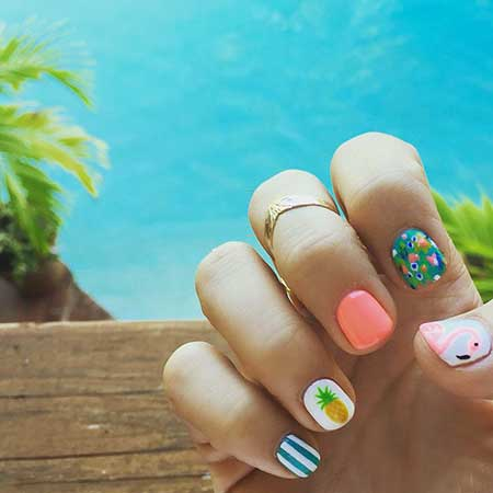 Summer Nails Summer 2016 Ideas - 9