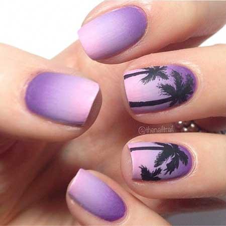 Summer Nails Summer Beach - 9