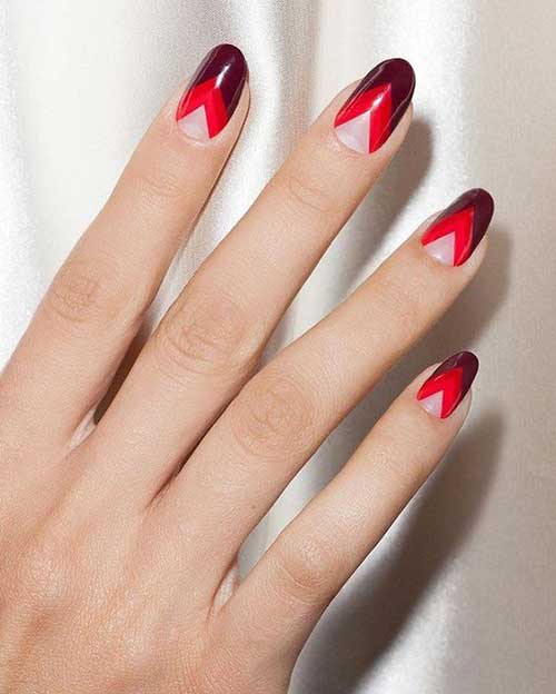 Long Oval Shape Nail Designs-7