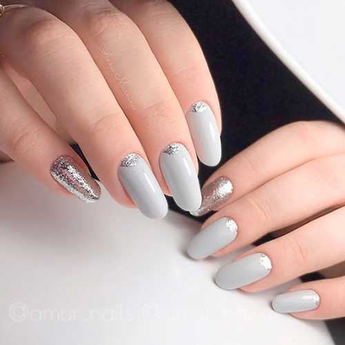 Long Oval Shape Nail Designs-9