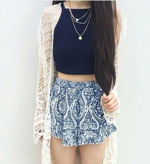 Halter Top Outfit