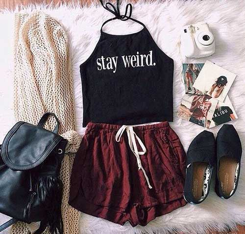 Halter Top Women Outfit Ideas