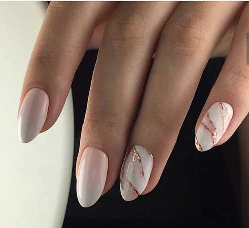 Long Oval Shape Nails