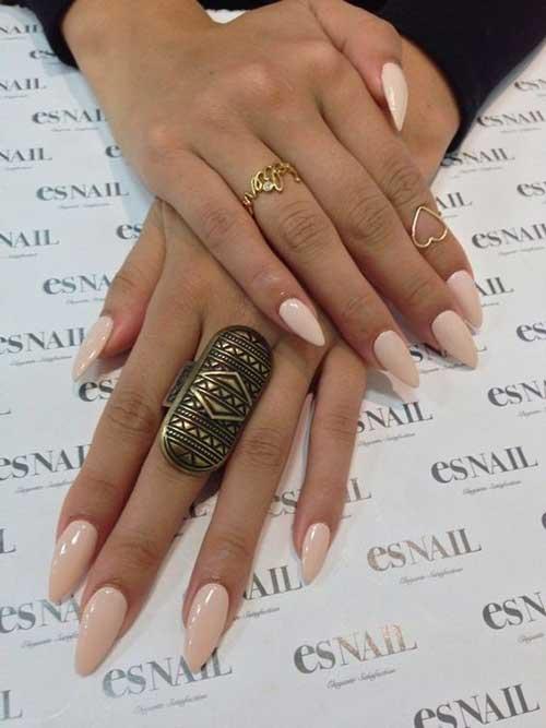 Oval Shape Nail Ideas