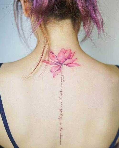 Neck Tattoos for Women-13