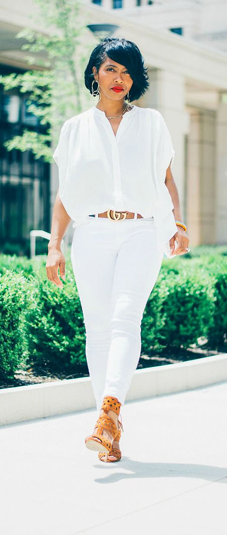 All White Outfit Idea, All White Spring Jeans