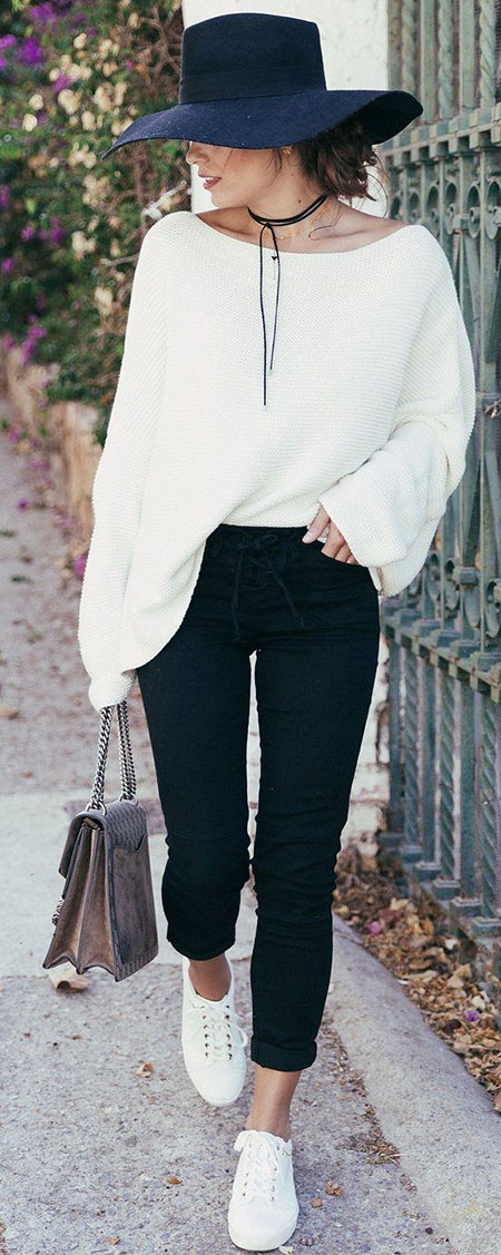 Black and White Outfit, Fashion Trends Trending Up