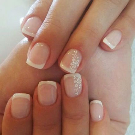 Gorgeous Wedding Nail Art Idea, Nail Wedding Designs Art