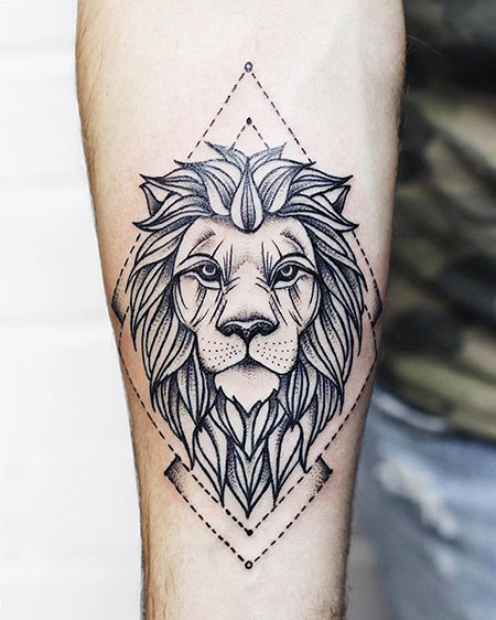 Lion Tattoo Idea, Lion Tattoo Tattoos Wolf
