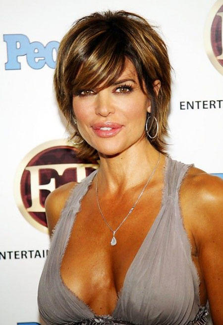 Lisa Rinna Hairtyle, Hair Layered Women Lisa