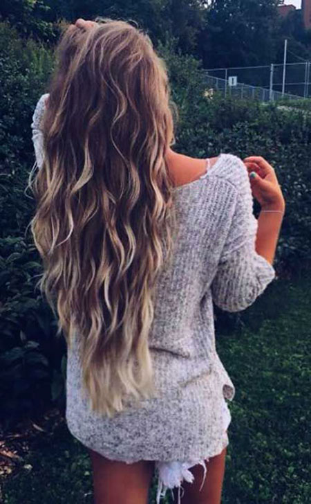 Layered Haircut for Wavy Hair, Hair Wavy Blonde Long