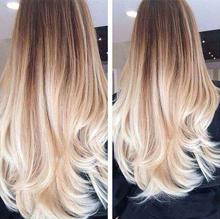 Blonde and Brown Ombre Hair, Hair Ombre Blonde Color