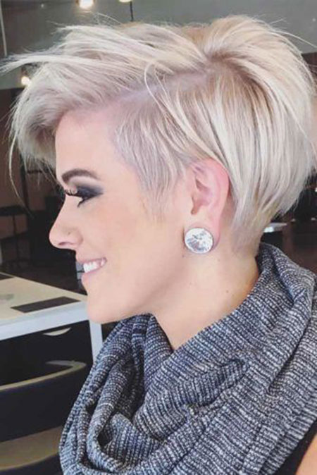 Short Haircut for Women, Short Hair Pixie Thick