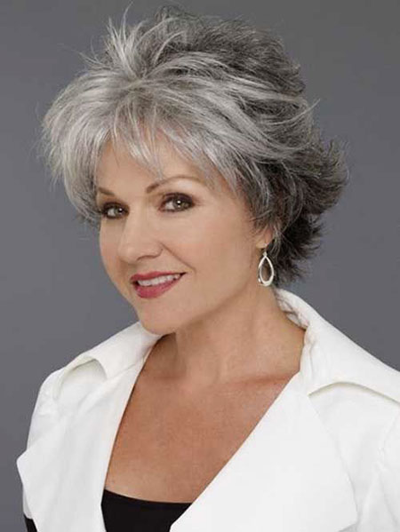 Short Hairtyle for Women Over 50, Short Hair Sassy Over