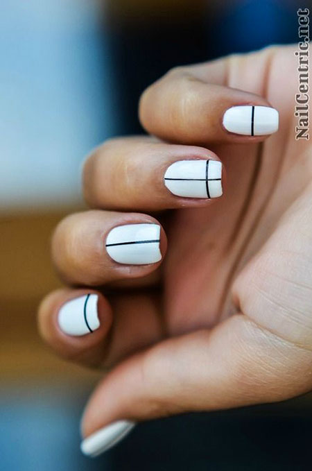 Simple Nail Design, Nail Simple White Nails