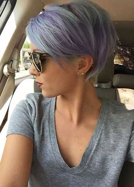 Short Hairtyle for Thin Hair, Hair Short Pixie 2017
