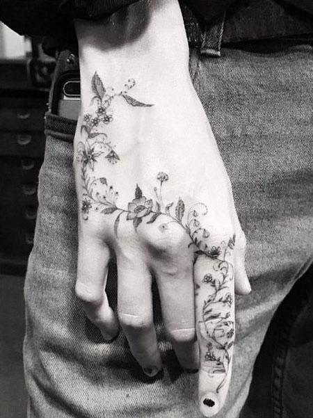 Hand Tattoo Idea, Tattoo Henna All Some