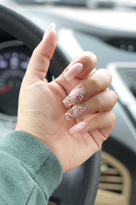 Acrylic Nails Nail Cute