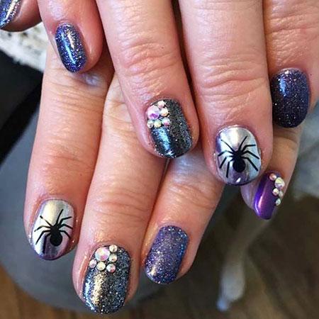 Nail Art Nails Spider