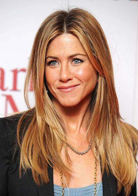 Hair Medium Aniston Jennifer