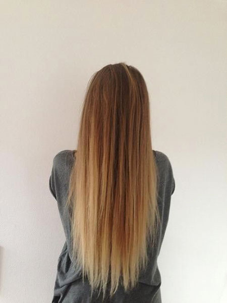 Hair Ombre Blonde Long