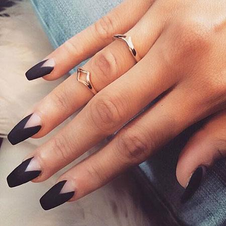 Nails Nail Matte Manicure