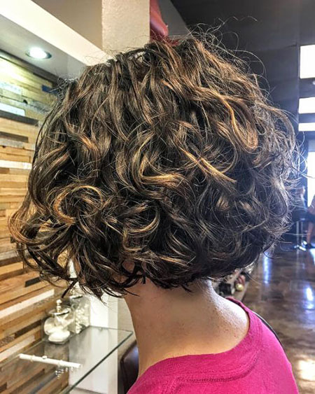 Curly Short Bronde Golden