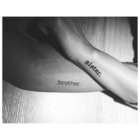 Sister Tattoos Brother Tattoo