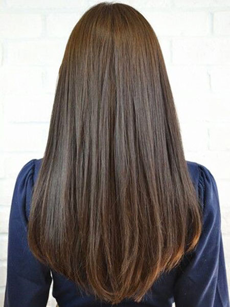 Hair Long Straight Color