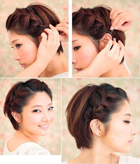 Hair Braid Pixie Hairtyles