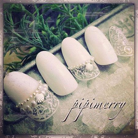 Nail Manicure Bride Wedding