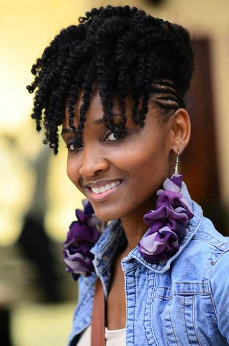 Natural Hair Styles Mohawk