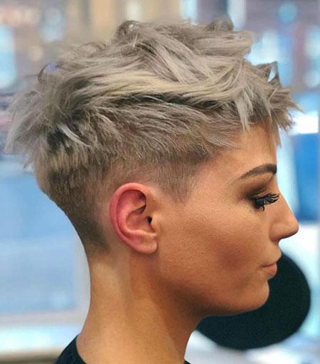 Pixie Choppy Hair Short