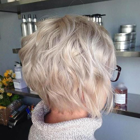 Blonde Short Ash Choppy