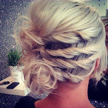 Hair Updo Short Prom