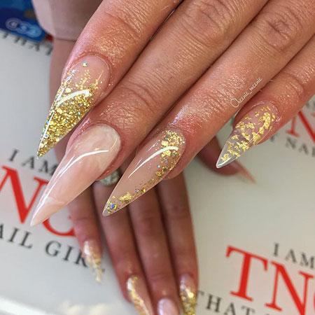 Nails Nail Coffin Designs
