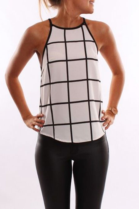 Tank Fashion Racerback Up