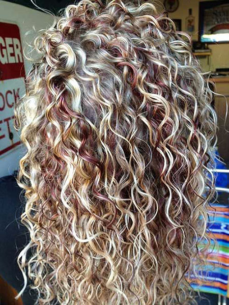 Curly Long Perm Hair