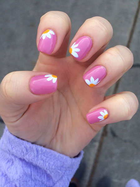 Nail Pink Summer Nails