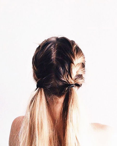 Hair Bun V Pretty