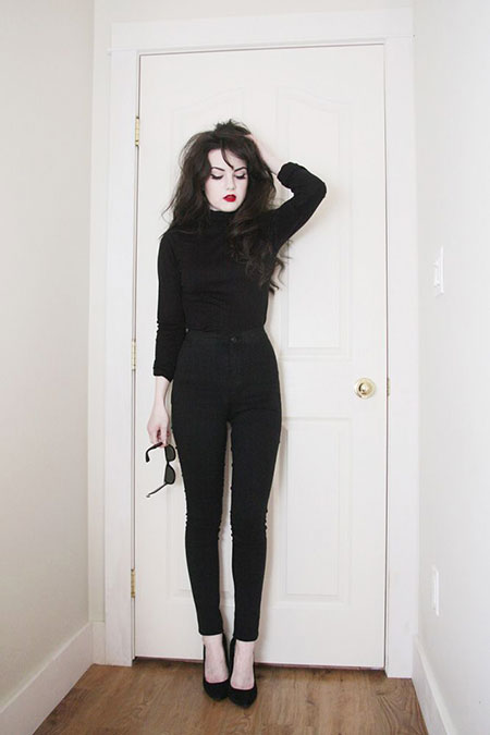 Red Black Fashion Lipsticks